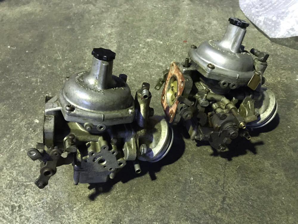 ランドローバー クラシックレンジローバー ディフェンダー V8 SUキャブレター ERC572 インマニセット _画像7