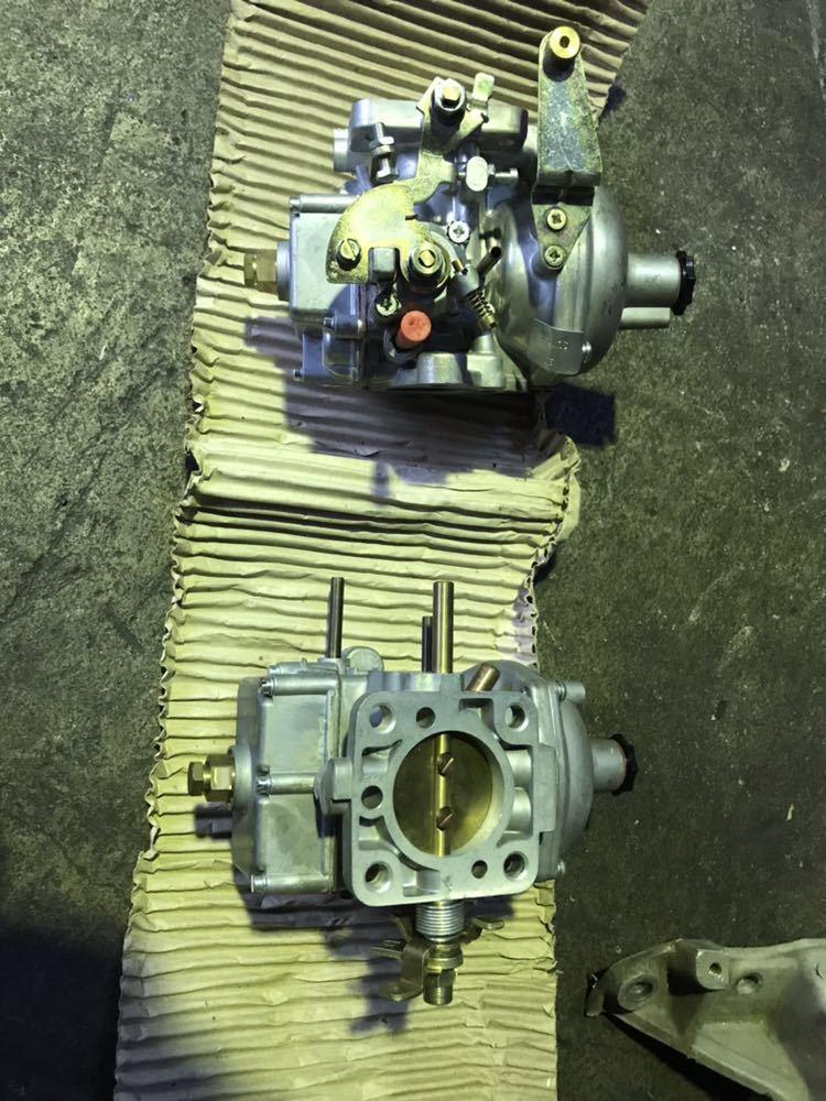 ランドローバー クラシックレンジローバー ディフェンダー V8 SUキャブレター ERC572 インマニセット _画像3