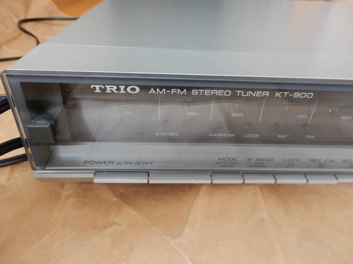 TRIO AM/FMチューナー KT-900