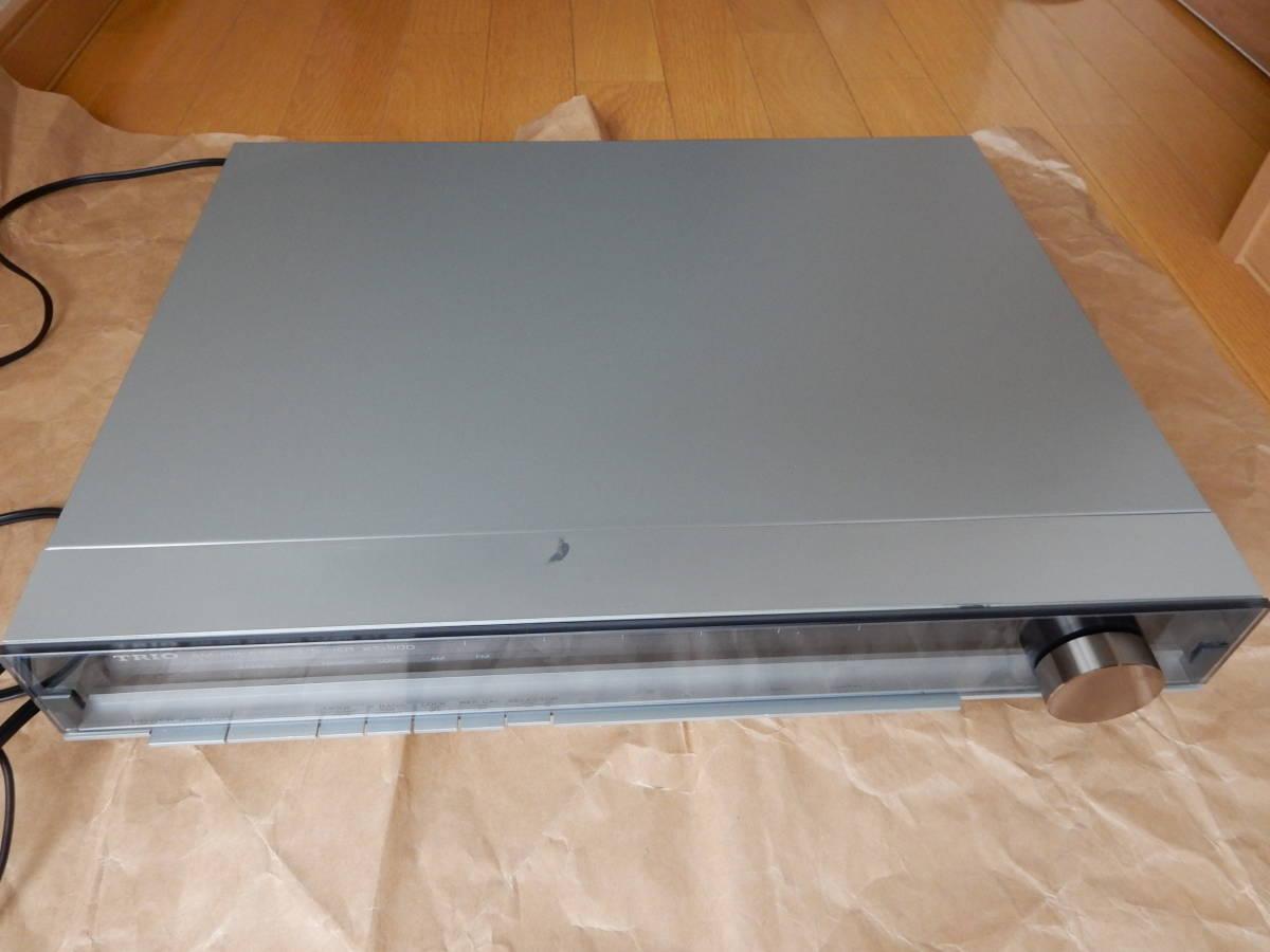 TRIO AM/FMチューナー KT-900_画像5