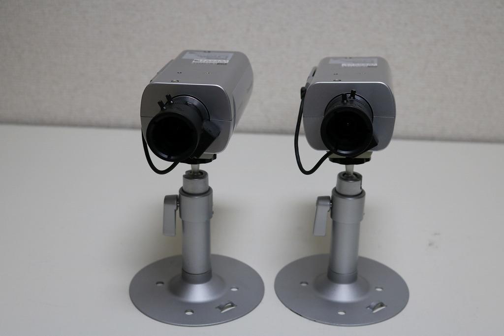 送料無料 パナソニック 防犯カメラセット DG-NV200 DG-SP304V 2台 中古_画像6