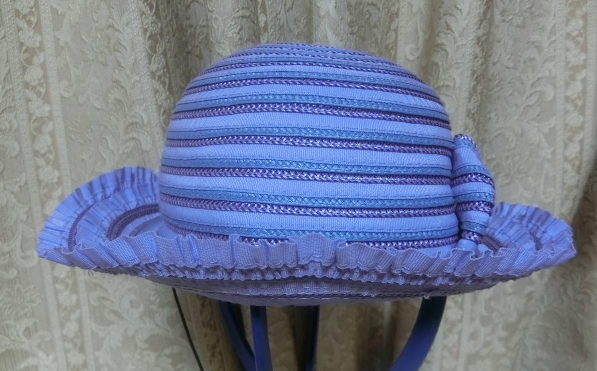 ◆アナスイミニ◆可愛い麦わら帽子◆パープル◆リボン◆超美品◆ANNASUImini◆_画像3