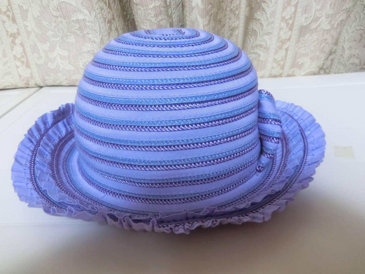 ◆アナスイミニ◆可愛い麦わら帽子◆パープル◆リボン◆超美品◆ANNASUImini◆_画像5