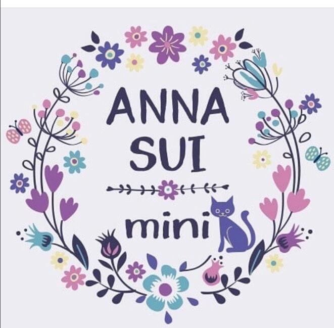 ◆アナスイミニ◆可愛い麦わら帽子◆パープル◆リボン◆超美品◆ANNASUImini◆_画像9