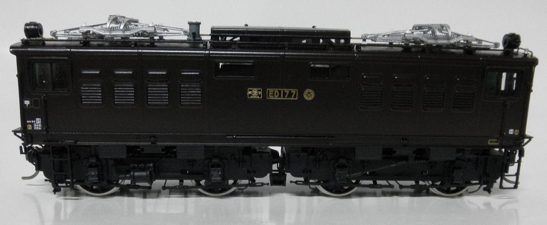 ムサシノモデル ED17 7号機晩年型  完成品 真鍮製_画像5