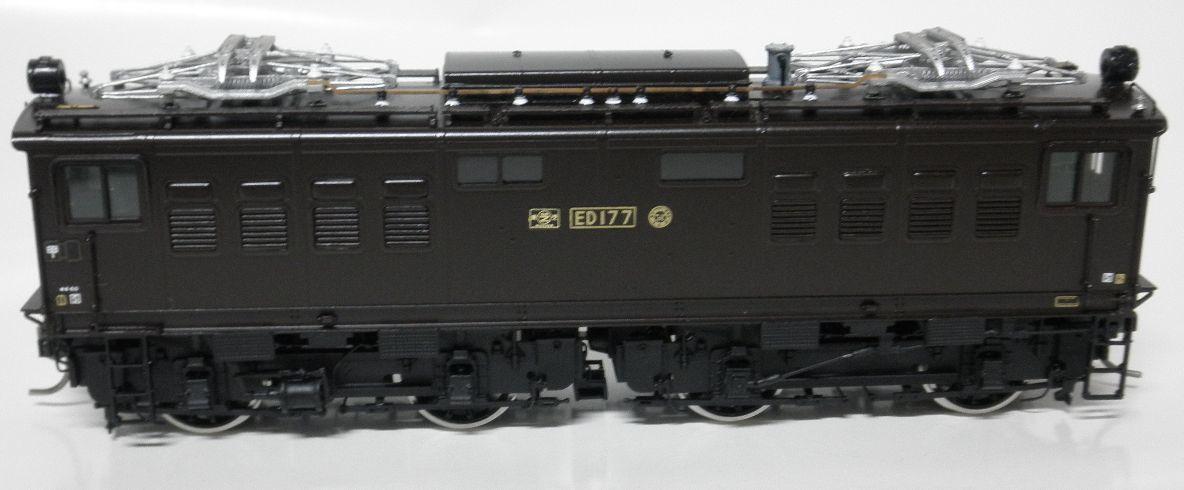 ムサシノモデル ED17 7号機晩年型  完成品 真鍮製_画像2
