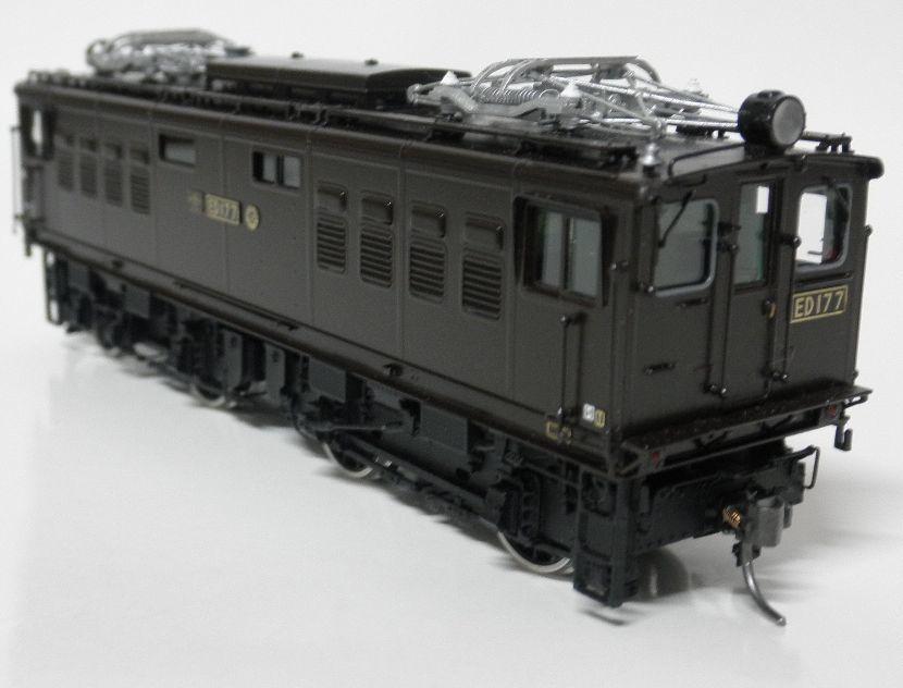 ムサシノモデル ED17 7号機晩年型  完成品 真鍮製_画像6
