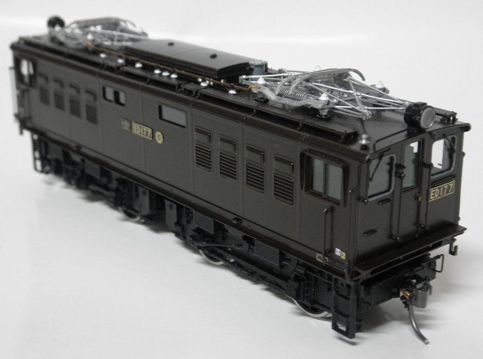 ムサシノモデル ED17 7号機晩年型  完成品 真鍮製_画像3