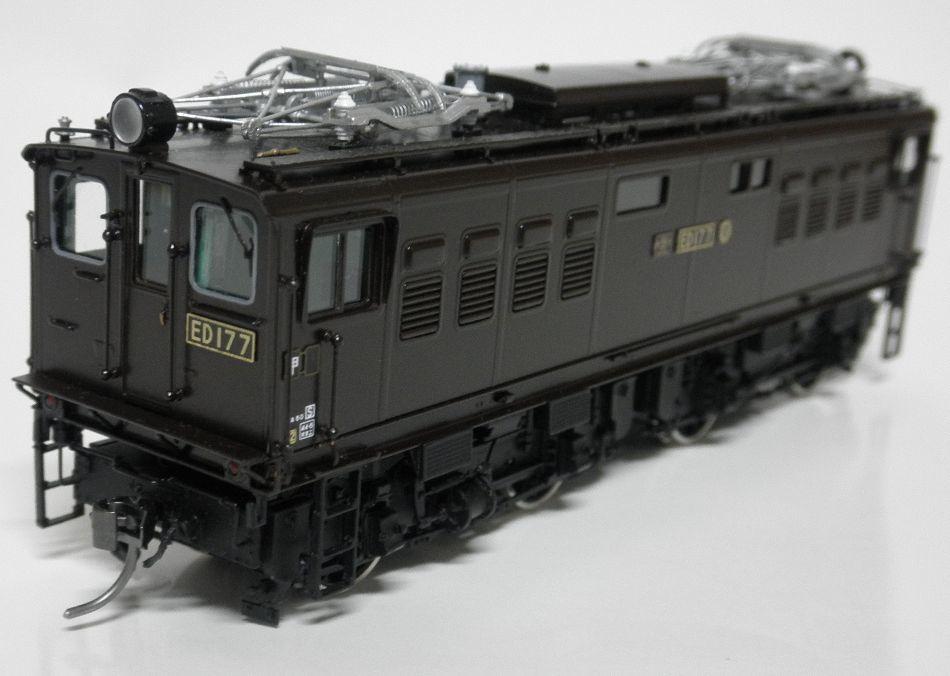 ムサシノモデル ED17 7号機晩年型  完成品 真鍮製_画像4
