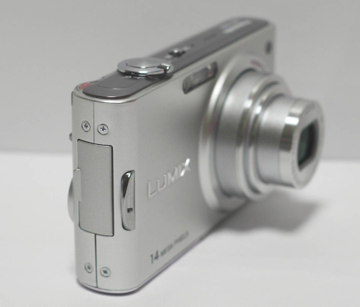 PANASONIC パナソニック デジタルカメラ 1410万画素 LUMIX  DMC-FX66 動作・美品 バッテリー DMW-BCF10付_画像4