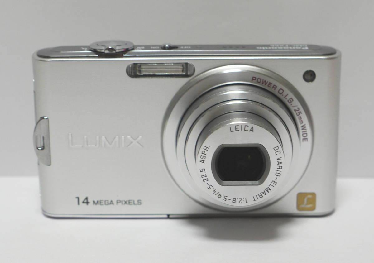 PANASONIC パナソニック デジタルカメラ 1410万画素 LUMIX  DMC-FX66 動作・美品 バッテリー DMW-BCF10付_画像2