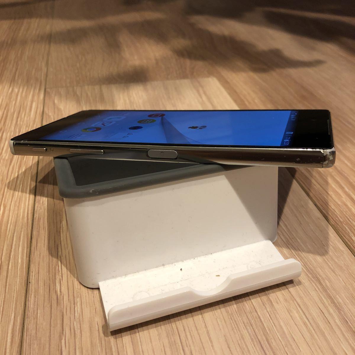 ★1円スタート!【即決あり】docomo/Sony Mobile Xperia Z5 Premium SO-03H(クローム)⑦_画像6