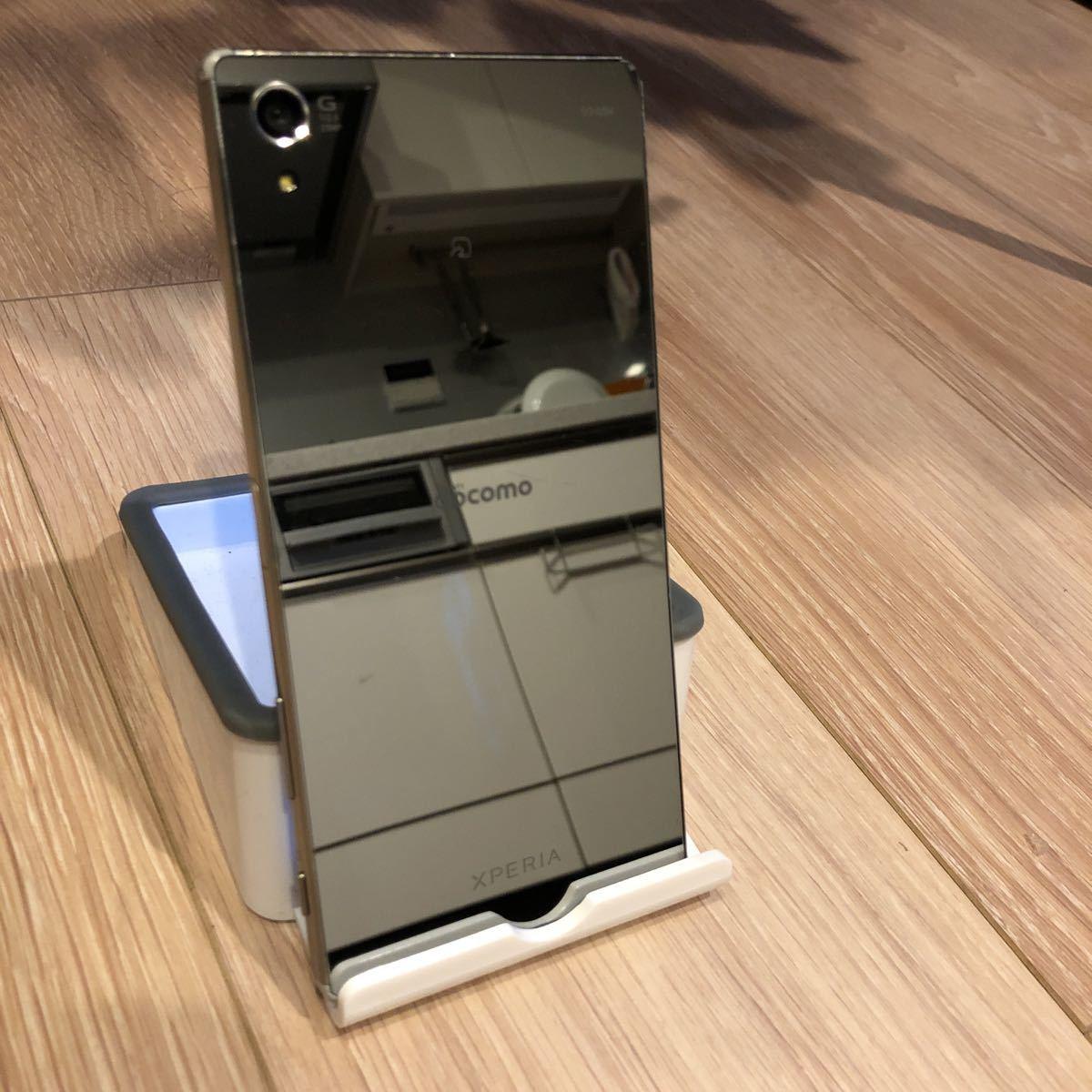 ★1円スタート!【即決あり】docomo/Sony Mobile Xperia Z5 Premium SO-03H(クローム)⑦_画像2