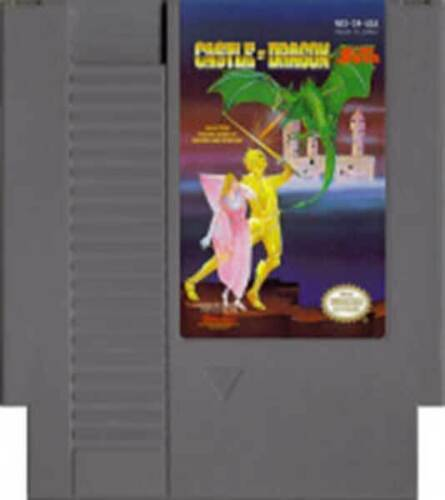 海外限定版 海外版 ファミコン Castle Of Dragon キャッスル オブ ドラゴン NES