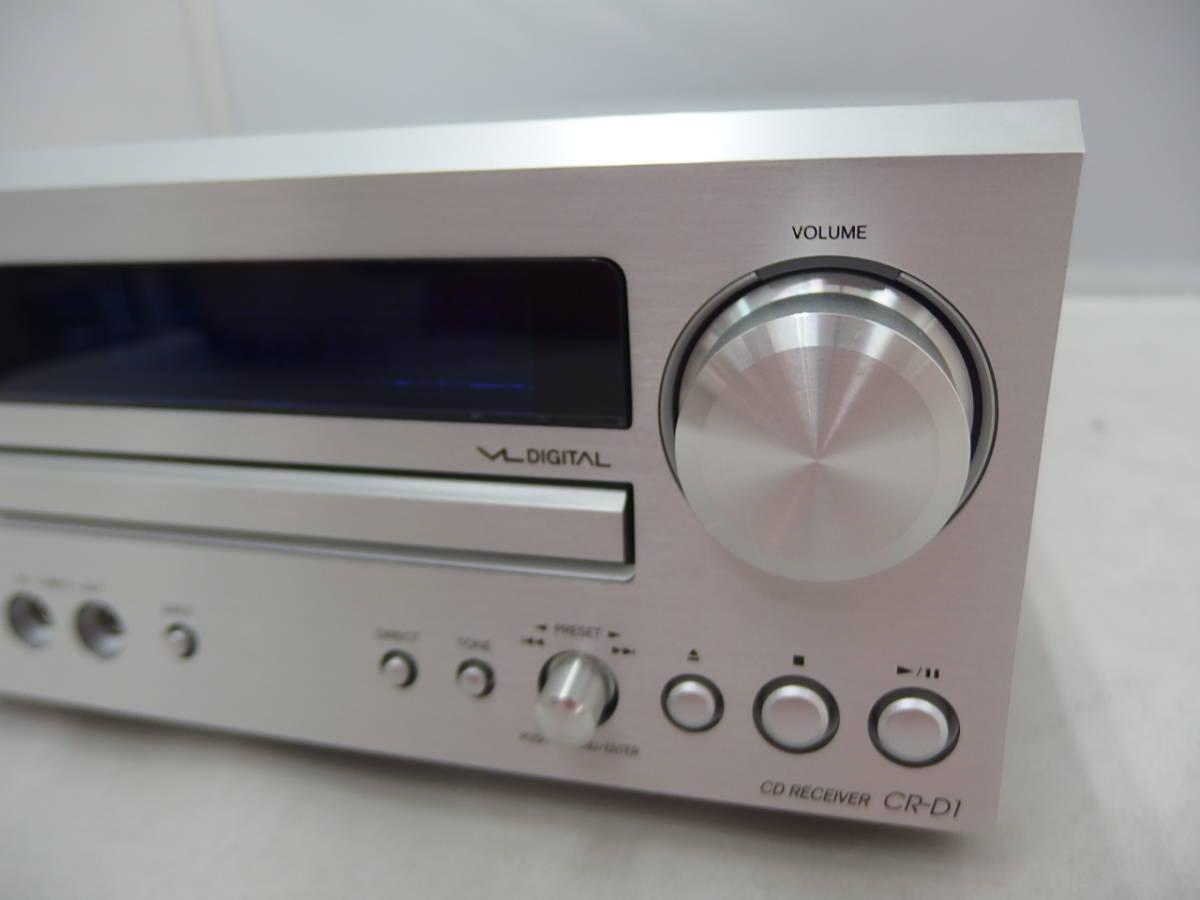 ジャンク CD再生OK ONKYO CDレシーバー CR-D1_画像3