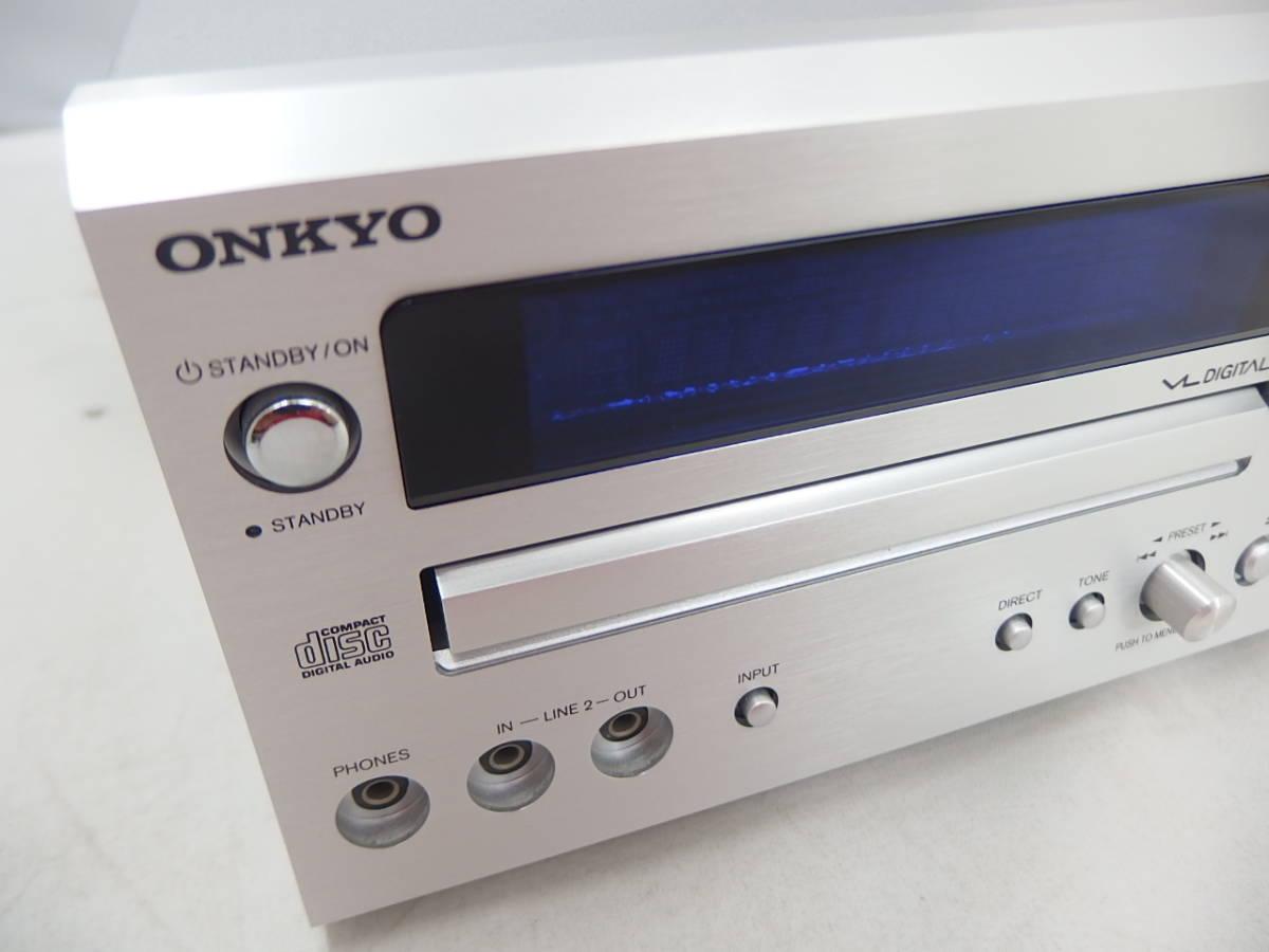 ジャンク CD再生OK ONKYO CDレシーバー CR-D1_画像2