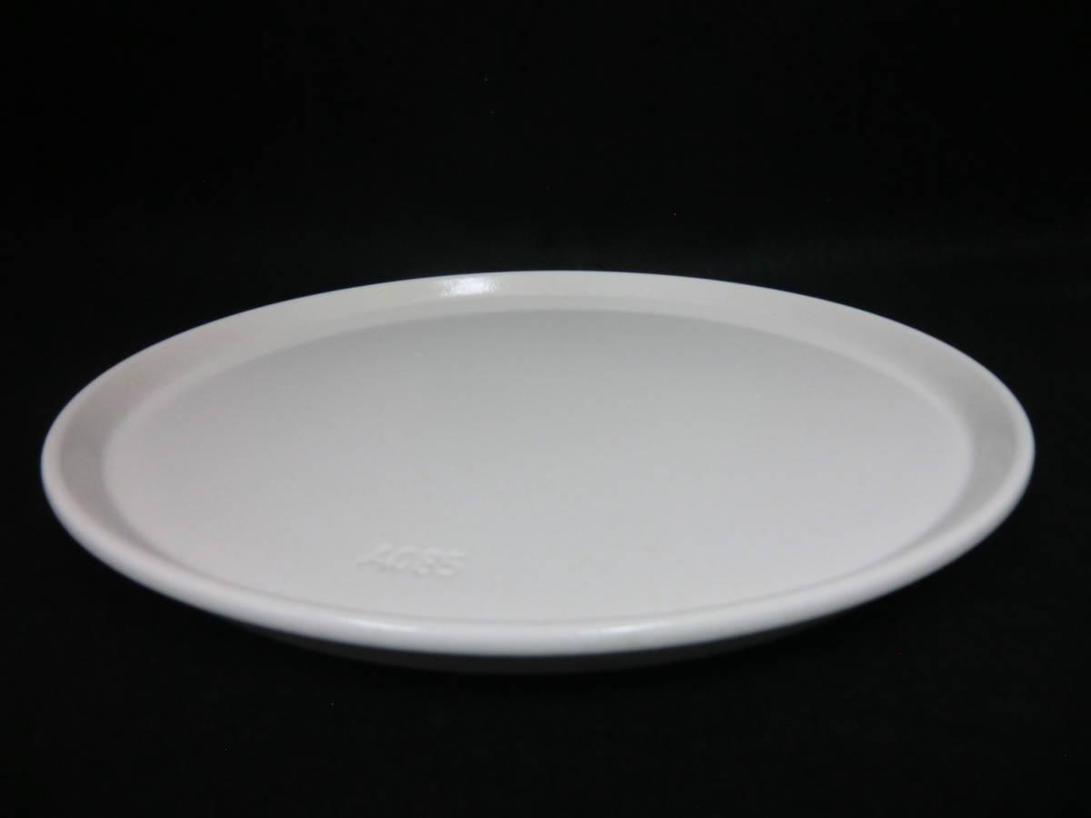 ★★直径約26㎝ 電子レンジ用 耐熱皿 丸皿 ターンテーブル 白系★★②_画像3