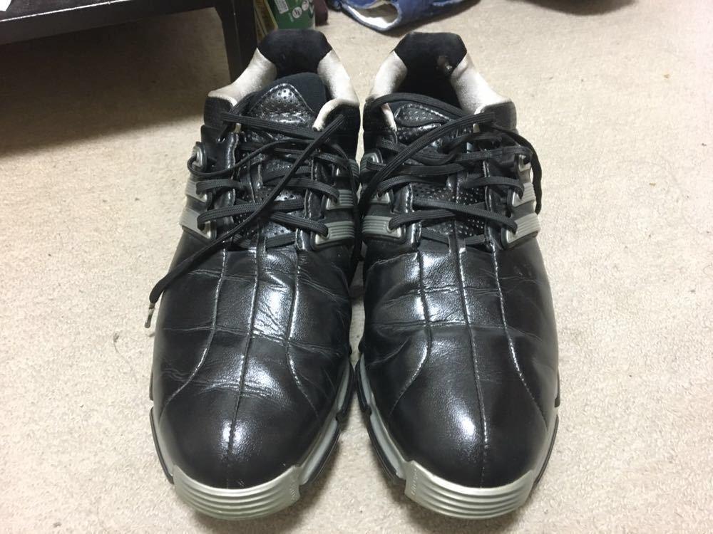 【中古】adidas tour360 26cm ブラック_画像6