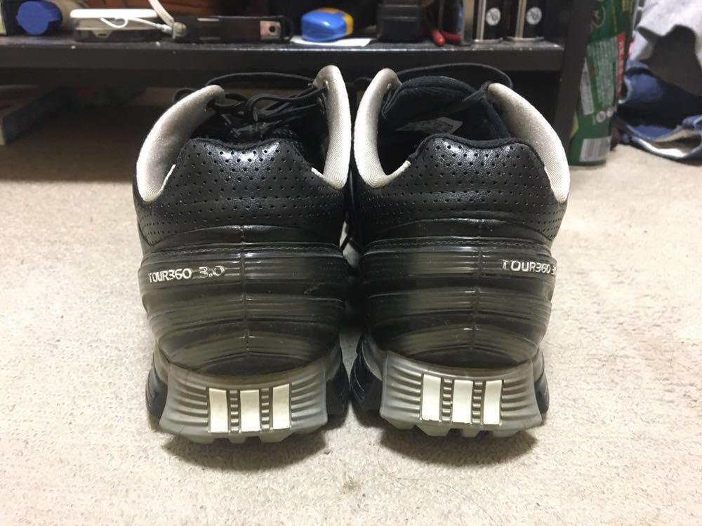 【中古】adidas tour360 26cm ブラック_画像3