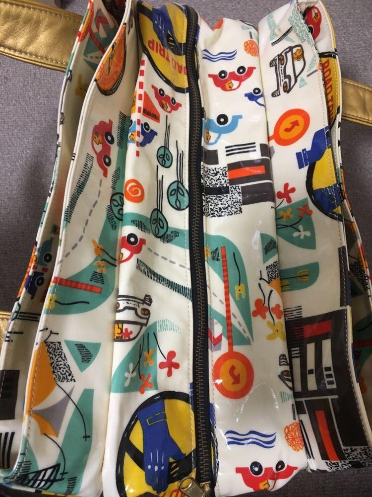 "Yoshii* mother z задний * эмаль * рисунок * сумка ""Boston bag"""