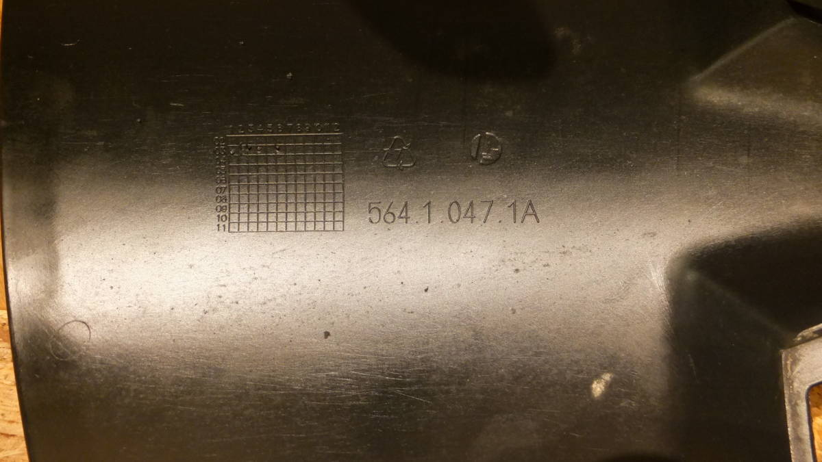 DUCATI ムルティストラーダ1000DS ZDMA100AA3B 純正 フロントフェンダー リア側 後ろ ドゥカティ 検 SDS 1100_画像7