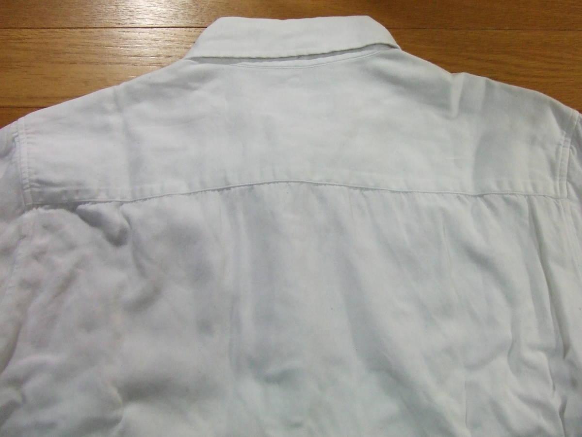ヴァンキッシュVANQUISH TOKYO JAPAN 長袖シャツ SIZE:M 白 送料215円~_画像3