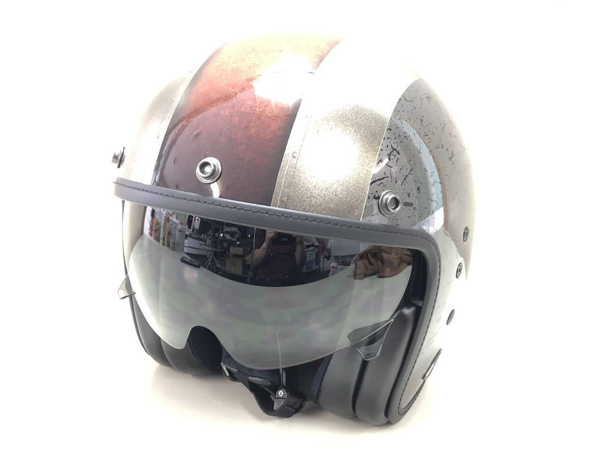 ■激安スタート■未使用■SCORPION/スコーピオン EXO BELFAST BYWAY サイズEU L バイク ヘルメット ドイツ■1069