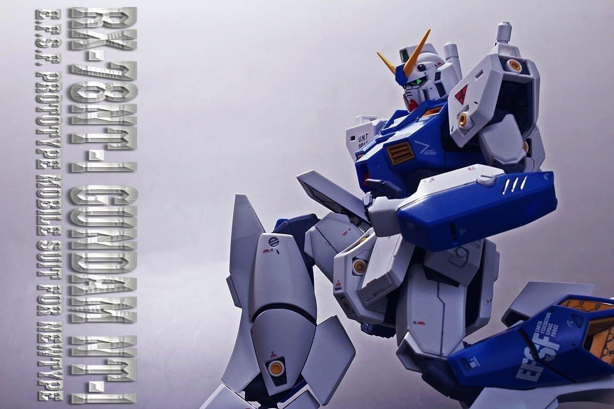 MG 1/100 RX-78 NT-1ガンダムNT-1 アレックス Ver.2.0完成品_画像2
