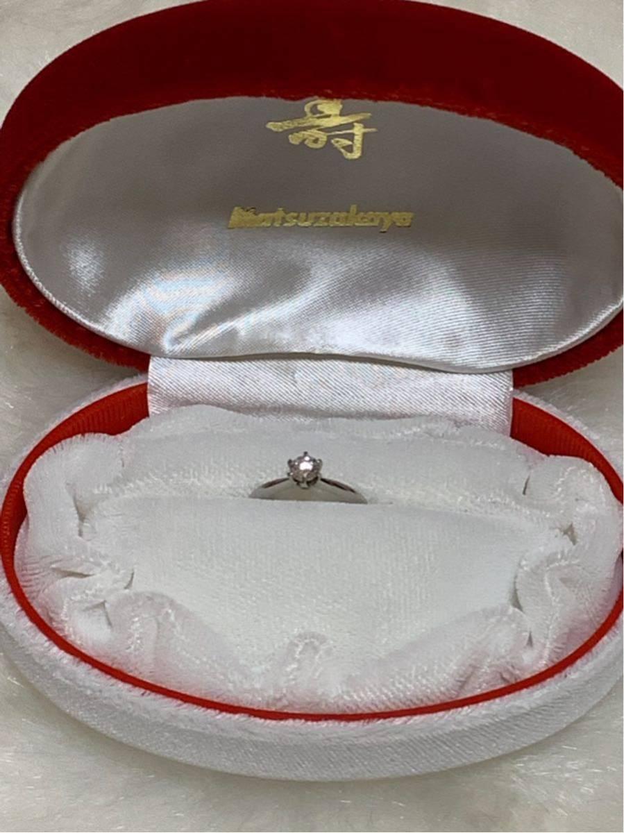 婚約指輪 エンゲージリング ダイヤモンド 0.324ct プラチナ 日米宝石鑑別センター鑑定書付 0.324ct F カラー VVS1クラス EXCELLENTカット_画像5