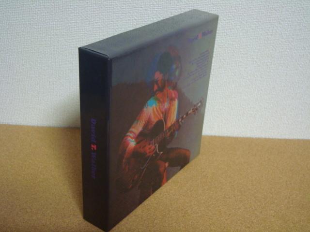 紙ジャケ DU特典 BOX付 DAVID T. WALKER デヴィッド・T.ウォーカー 3タイトル_画像3