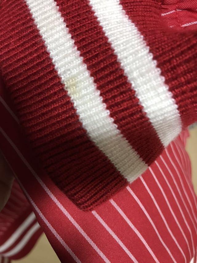 【希少】Supreme/COMME des GARCONS SHIRT Reversible Varsity Baseball Jacket M Red_画像7