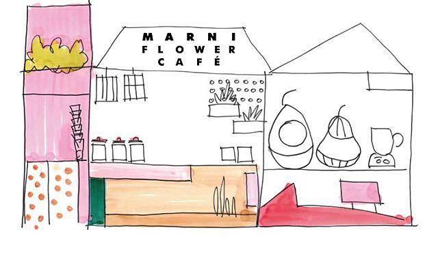 マルニフラワーカフェ カゴバッグ MARKET _画像4