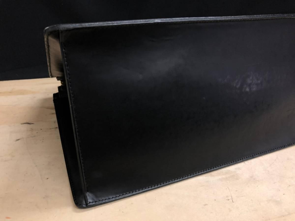 A02d03I LOUIS VUITTON ハンドバッグ ビジネスバッグ エピ リヴィエラ ブラック 黒 ルイヴィトン LV_画像5