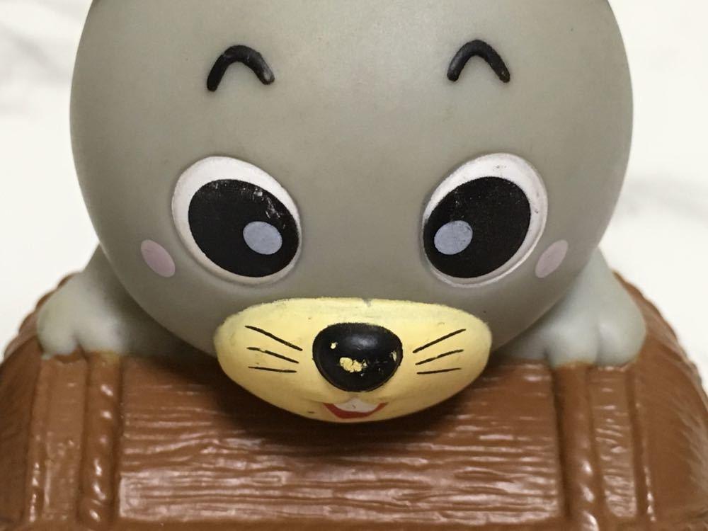中古 保管品☆ JA 東京みらい ネズミ LAバンク 馬 ソフビ 貯金箱 非売品 昭和レトロ_画像7