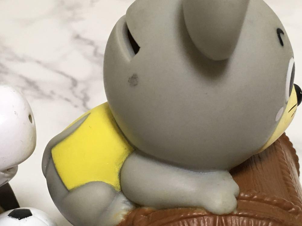 中古 保管品☆ JA 東京みらい ネズミ LAバンク 馬 ソフビ 貯金箱 非売品 昭和レトロ_画像6
