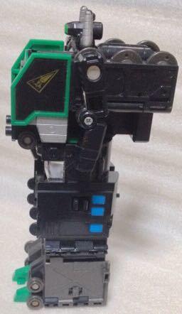 タカラ 勇者指令ダグオン 中古 DXスーパーライナーダグオン 分売 ダグドリル ジャンク体 同梱可 C62蒸気機関車_画像6