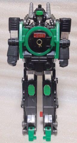 タカラ 勇者指令ダグオン 中古 DXスーパーライナーダグオン 分売 ダグドリル ジャンク体 同梱可 C62蒸気機関車_画像3