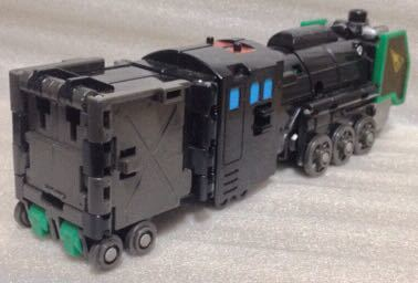 タカラ 勇者指令ダグオン 中古 DXスーパーライナーダグオン 分売 ダグドリル ジャンク体 同梱可 C62蒸気機関車_画像2