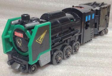タカラ 勇者指令ダグオン 中古 DXスーパーライナーダグオン 分売 ダグドリル ジャンク体 同梱可 C62蒸気機関車_画像1