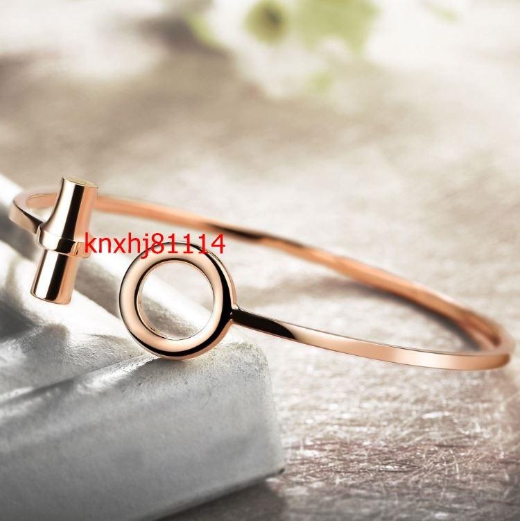 【破格の1円スタート】ファッション 女性 ローズゴールド ブレスレット 高級 ジュエリー レディース クォーツ 腕時計 セット ai_画像5