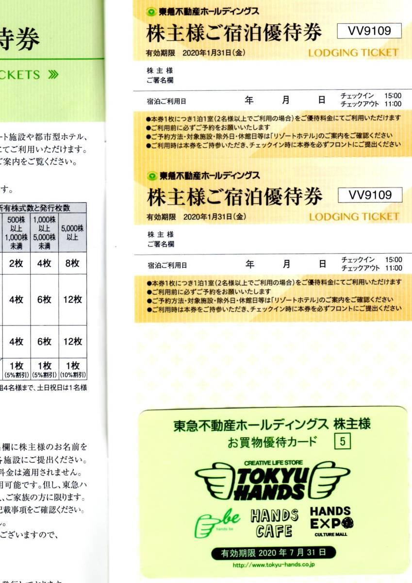 ☆東急不動産 株主優待券冊子+東急ハンズ5%割引カード◆送料込み_画像2