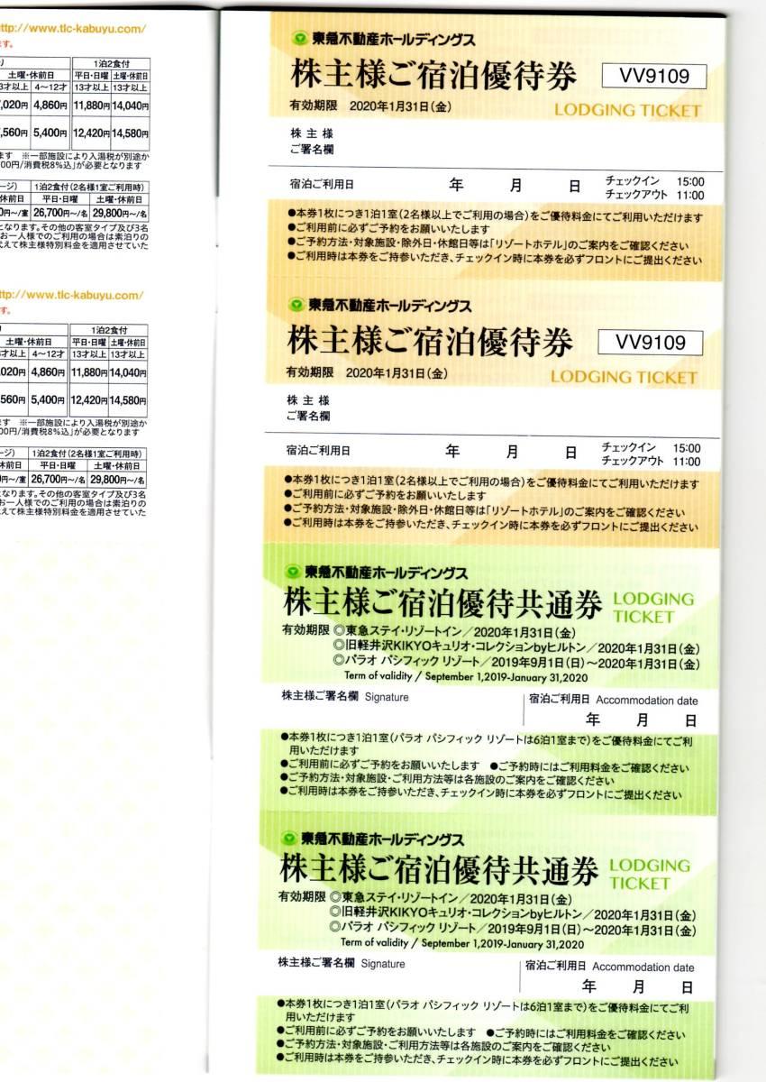 ☆東急不動産 株主優待券冊子+東急ハンズ5%割引カード◆送料込み_画像3