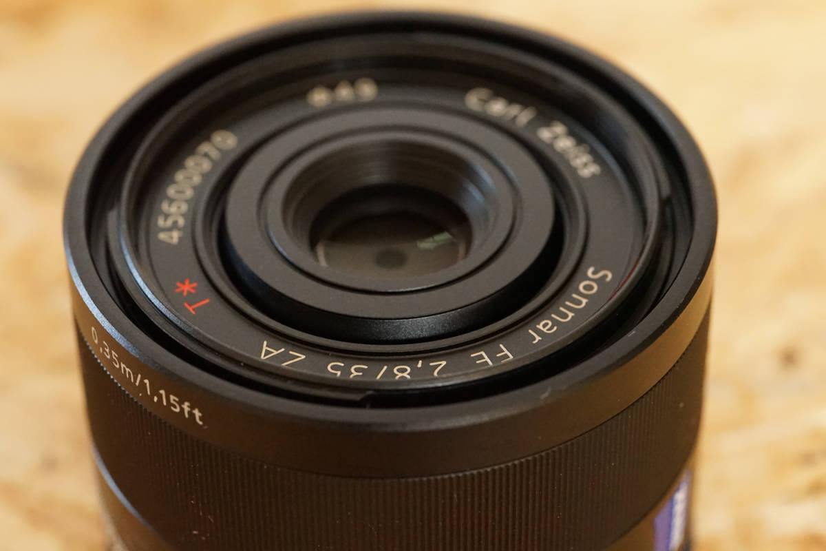 SONY SEL35F28Z Sonnar T* FE 35mm F2.8 ZA  元箱など付属品一式_画像2