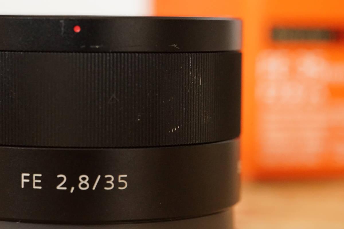 SONY SEL35F28Z Sonnar T* FE 35mm F2.8 ZA  元箱など付属品一式_画像5