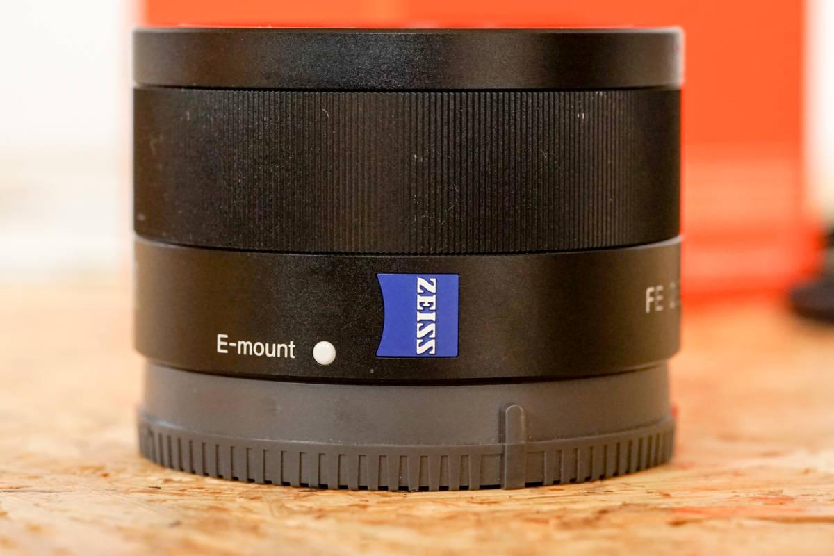 SONY SEL35F28Z Sonnar T* FE 35mm F2.8 ZA  元箱など付属品一式_画像3