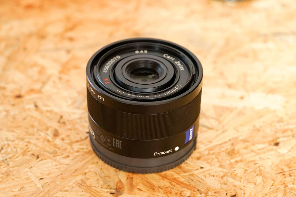 SONY SEL35F28Z Sonnar T* FE 35mm F2.8 ZA  元箱など付属品一式_画像6