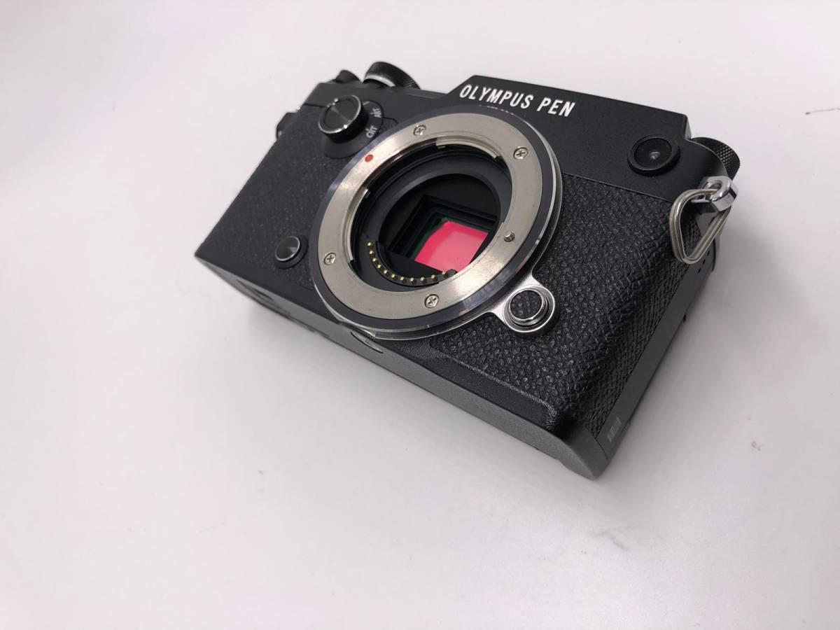 OLYMPUS -PEN F オリンパス レンジファインダーカメラ 美品 ブラック 付属品あり ショット数4918 17mm f1.8_画像7