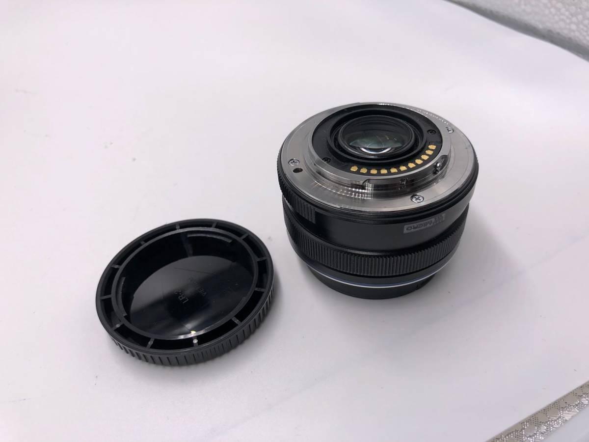 OLYMPUS -PEN F オリンパス レンジファインダーカメラ 美品 ブラック 付属品あり ショット数4918 17mm f1.8_画像3