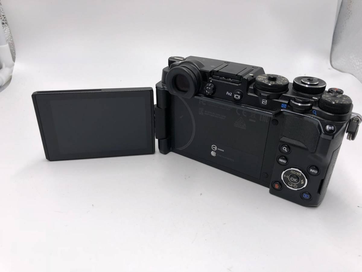 OLYMPUS -PEN F オリンパス レンジファインダーカメラ 美品 ブラック 付属品あり ショット数4918 17mm f1.8_画像5