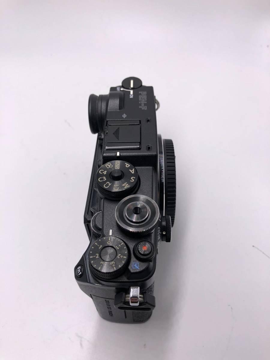 OLYMPUS -PEN F オリンパス レンジファインダーカメラ 美品 ブラック 付属品あり ショット数4918 17mm f1.8_画像6
